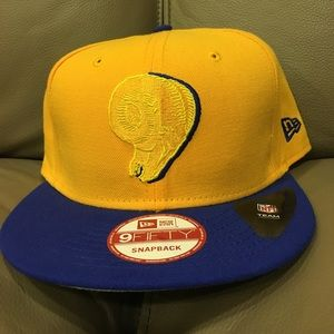 Other - L.A Rams Yellow Snapback